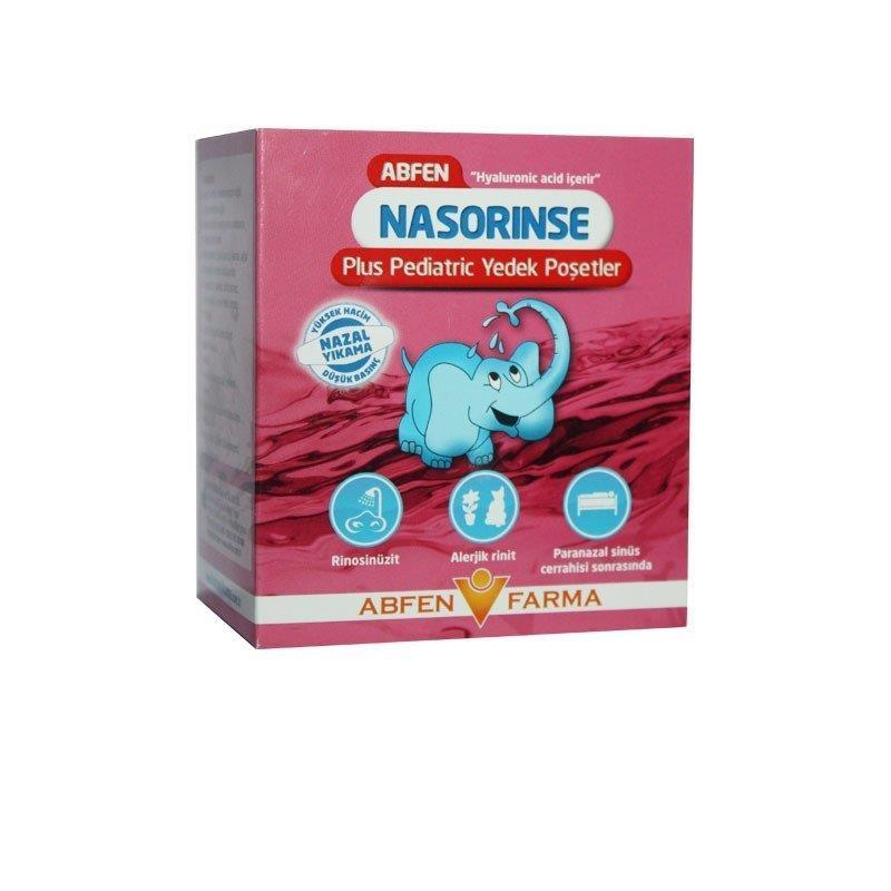 Abfen Nasorinse Plus Pediatric Yedek Poşetler 50 adet