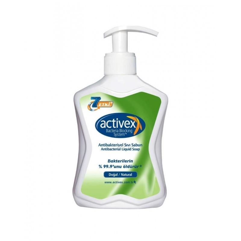 Activex Antibakteriyel Sıvı Sabun Doğal 300 ml