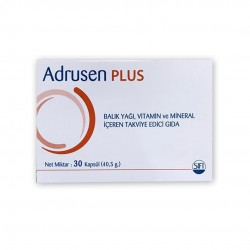 Adrusen Plus 30 Kapsül