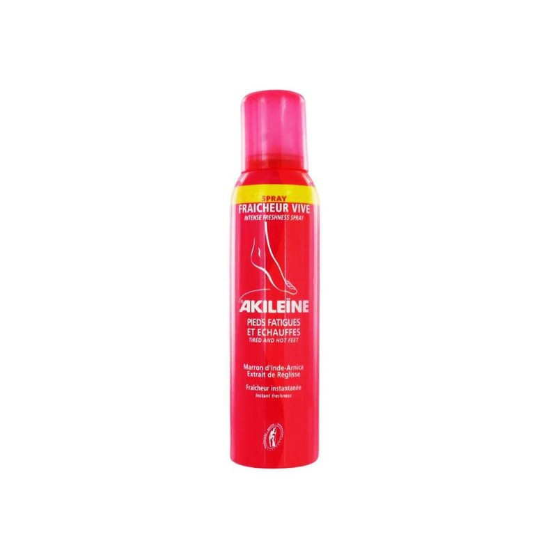 Akileine Intense Freshness Spray 150 ml
