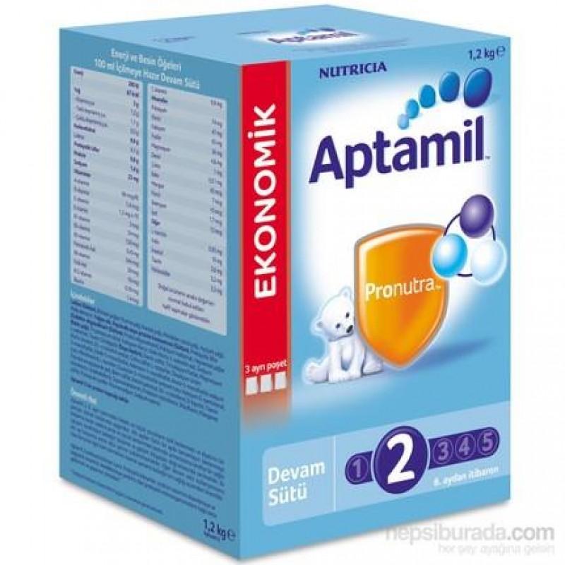 Aptamil 2 Devam Sütü 1200 gr 09/2018