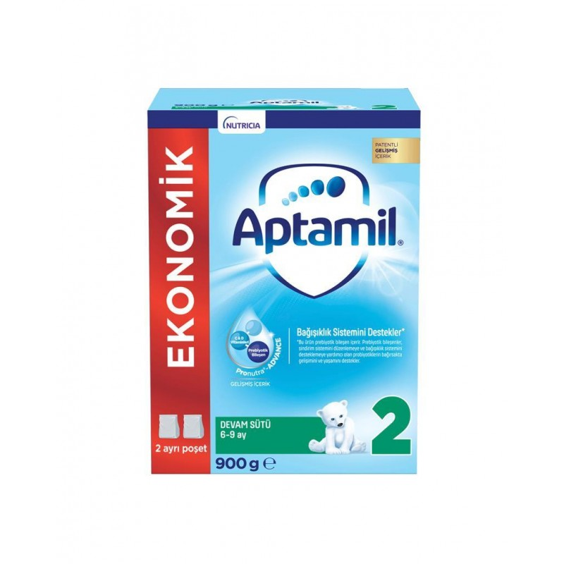 Aptamil 2 Devam Sütü 900 gr  6-9 Ay
