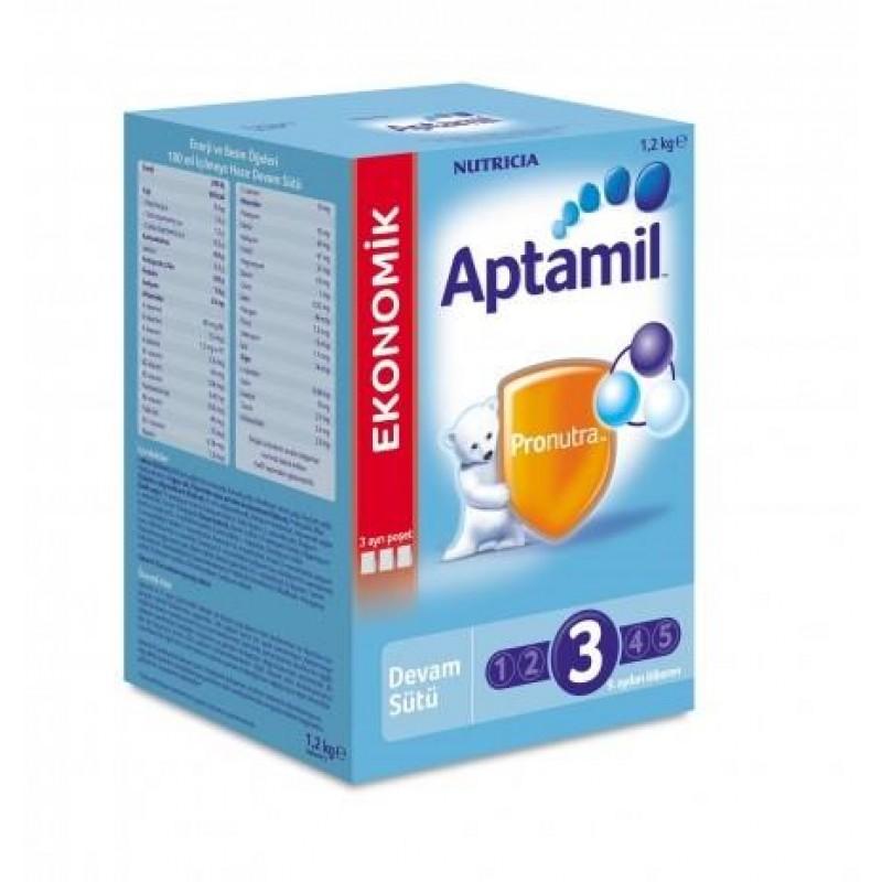 Aptamil 3 Devam Sütü 1200 gr 09/2018