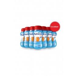 Aptamil Çocuk Sıvı Devam Sütü 1 Yaş+ 200 ml 12'li Koli