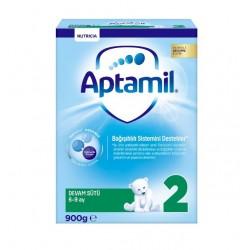 Aptamil Pronutra 2 Devam Sütü 6-9 Ay 900 gr Yeni Kutu