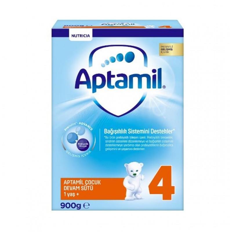 Aptamil Pronutra 4 Devam Sütü 1 Yaş+ Ay 900 gr Yeni Kutu