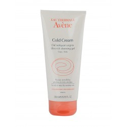 Avene Cold Cream Gel Nettoyant Surgras 200 ml Duş Jeli