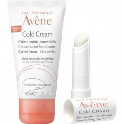 Avene Cold Cream Mains 50 ml + Lip Balm 4 gr Hediyeli