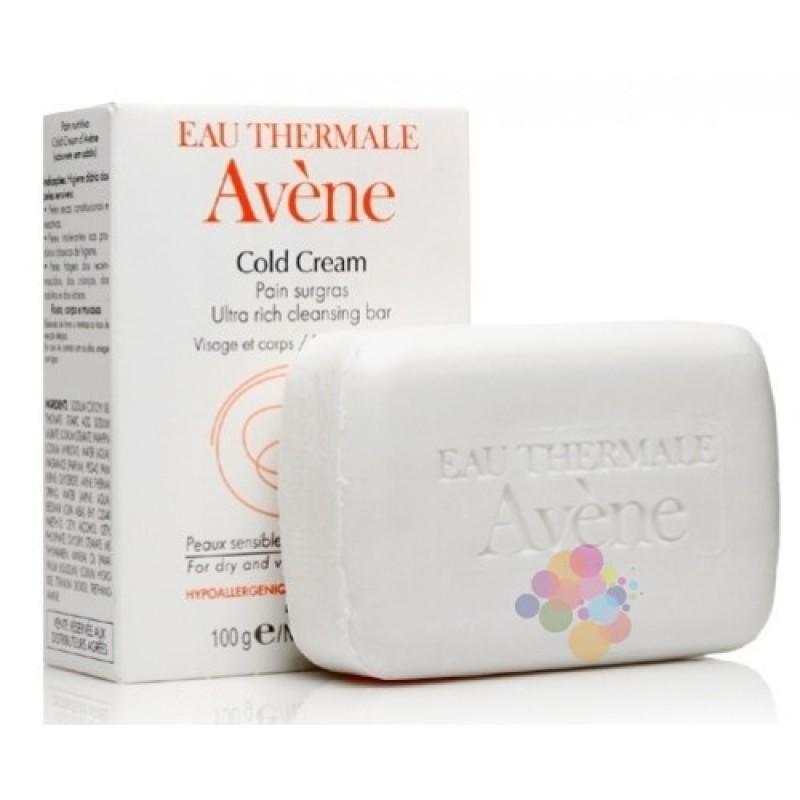 Avene Cold Cream Pain Surgras 100 gr (Çok Kuru Ciltler İçin Sabun İçermeyen Temizleme Barı)