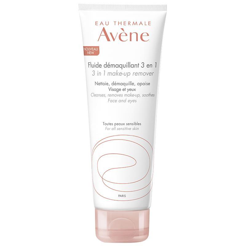 Avene Fluide Demaquillant 3 in 1 Cleanser 200 ml Makyaj Temizleme Losyonu