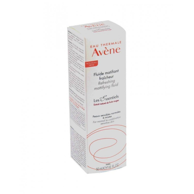 Avene Les Essentiels Refreshing Mattifying Fluid 50 ml