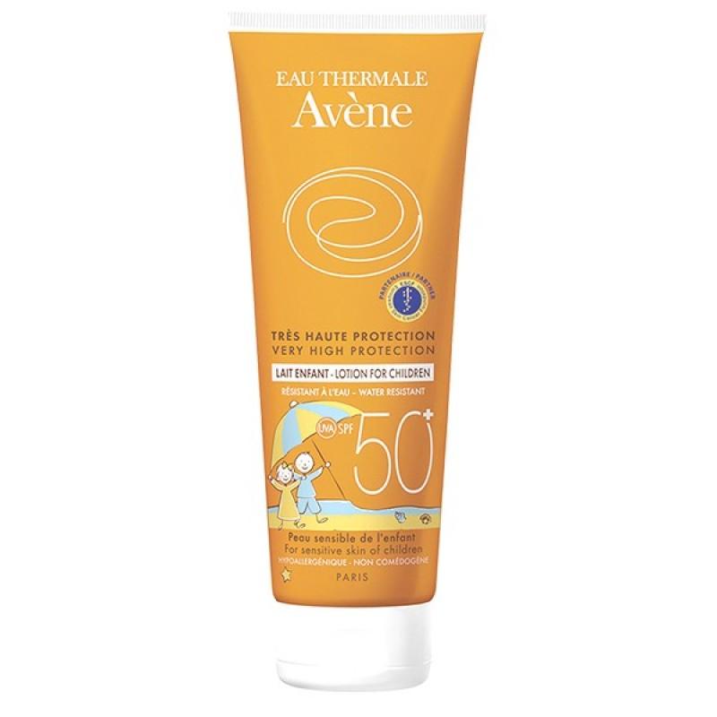 Avene Lait Enfant Spf50 250 ml (Çocuk Güneş Sütü)