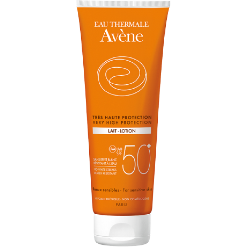 Avene Lait Spf50 250 ml (Yetişkin Güneş Sütü)