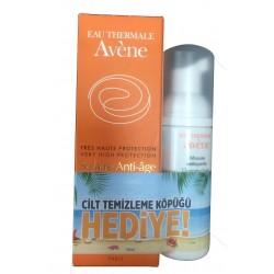 Avene Solaire Anti Age Spf50 50 ml Güneş Kremi + Cilt Temizleme Köpüğü Hediye