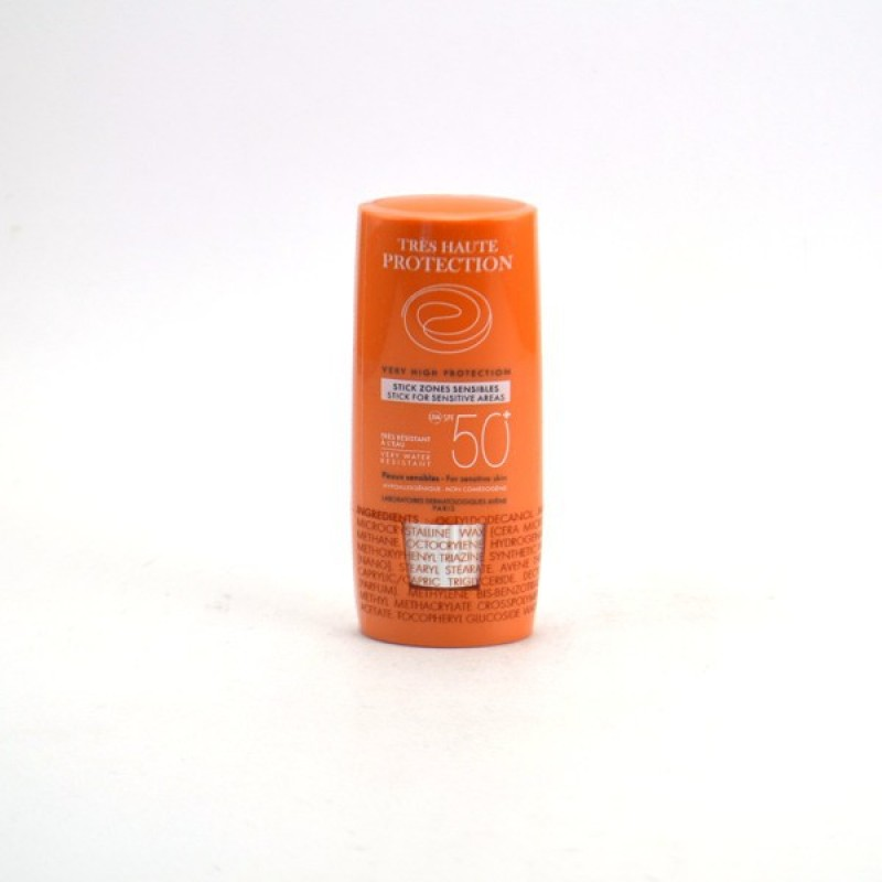 Avene Stick Zones Sensibles Spf50 8 gr