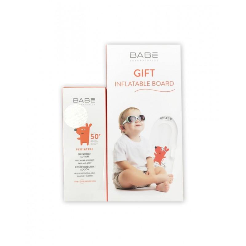 Babe Pediatrik Güneş Koruyucu Spf50 Losyon 100 ml + Deniz Yatağı Hediyeli