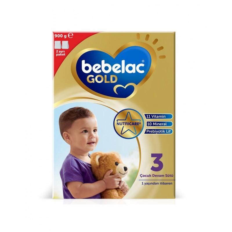 Bebelac Gold 3 Çocuk Devam Sütü 900 g 1 Yaş+