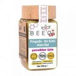 Bee`o Up Propolis + Arı Sütü + Ham Bal (Çocuklar İçin) 190 gr
