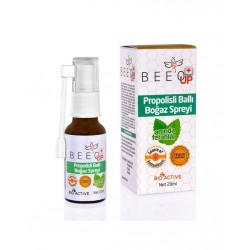Bee`o Up Propolisli Ballı Boğaz Spreyi 20 ml