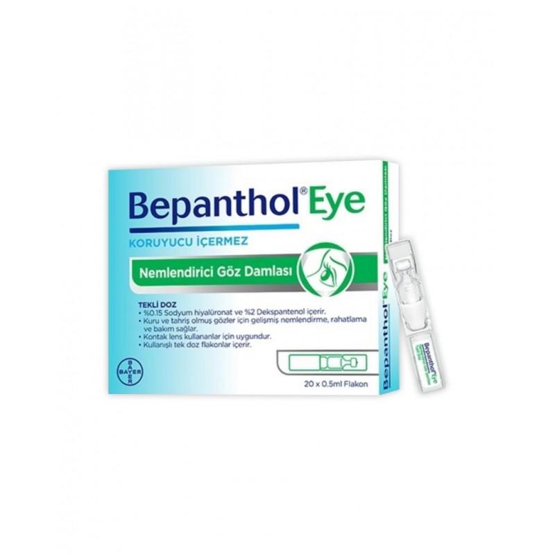 Bepanthol Eye Nemlendirici Göz Damlası 0,5 ml X 20 Flakon