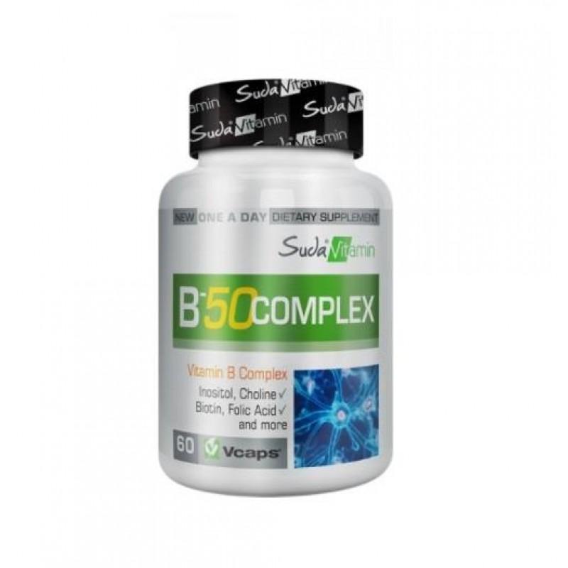 Bigjoy Vitamins B-50 Complex 60 Bitkisel Kapsül