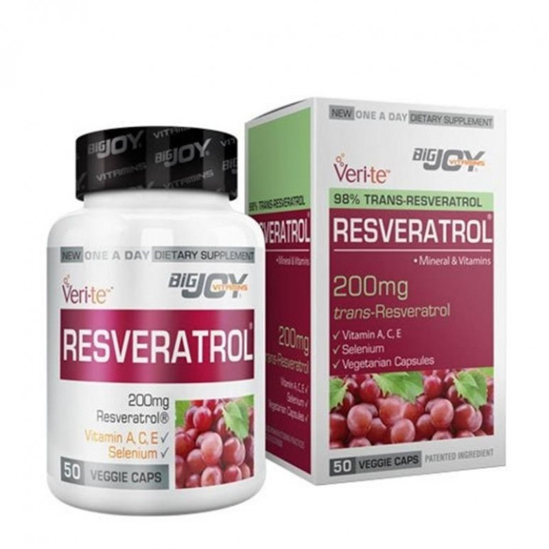 Suda Vitamin Resveratrol 50 Bitkisel Kapsül