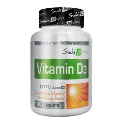 Suda Vitamin Vitamin D3 1000 IU 100 Tablet