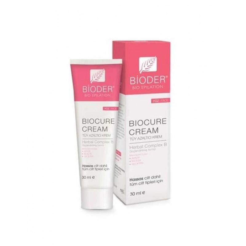 Bioder Biocure Tüy Azaltıcı Yüz Kremi 30 ml