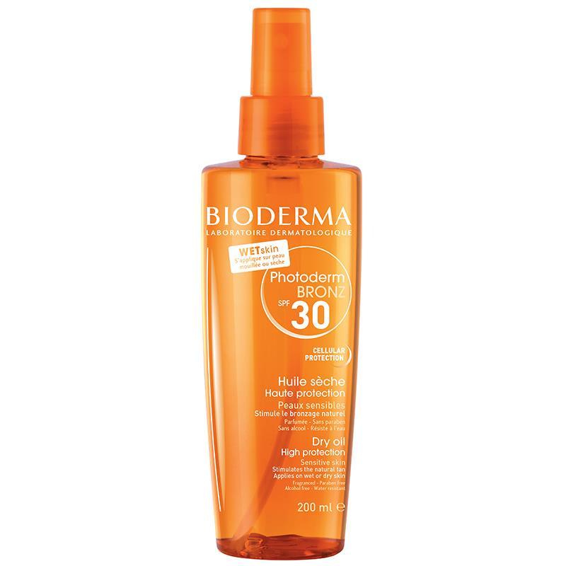 Bioderma Photoderm Bronze Brume Dry Oil Spf30 200 ml