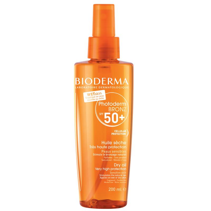 Bioderma Photoderm Bronze Brume Dry Oil Spf50 200 ml