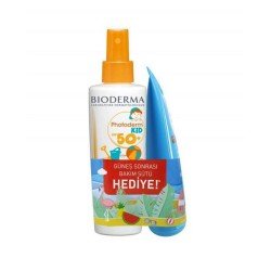 Bioderma Photoderm Kid Spray Spf50 200 ml & After Sun 100 ml Hediye