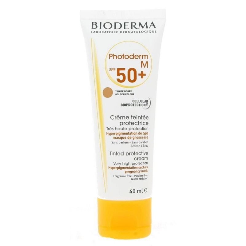 Bioderma Photoderm M Cream Spf50 Golden 40 ml (Tinted)