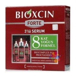 Bioxcin Forte 3'lü Serum 3 x 30 ml