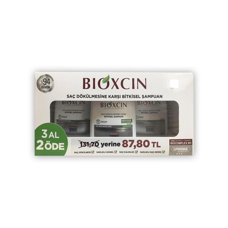 Bioxcin Genesis Şampuan 3 Al 2 Öde (Yağlı Saçlar)