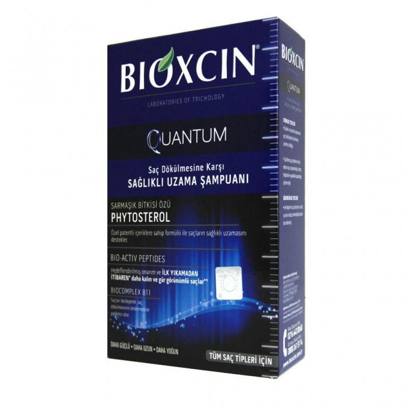 Bioxcin Quantum Sağlıklı Uzama Sarmaşık Bitkisi Özlü Şampuan 300 ml
