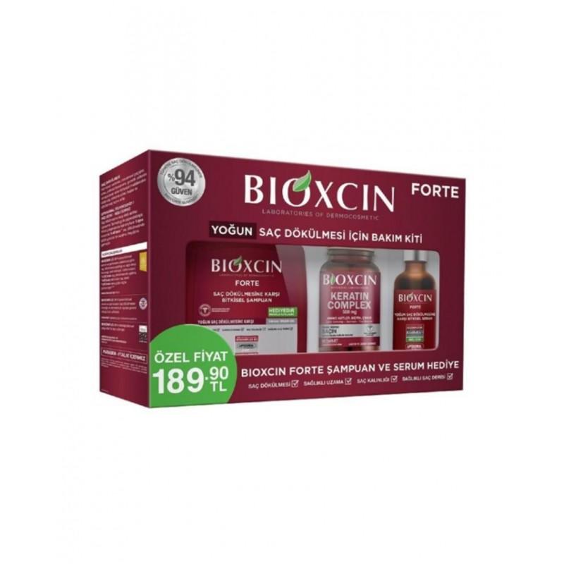 Bioxcin Forte Yoğun Saç Dökülmesi İçin Bakım Kiti
