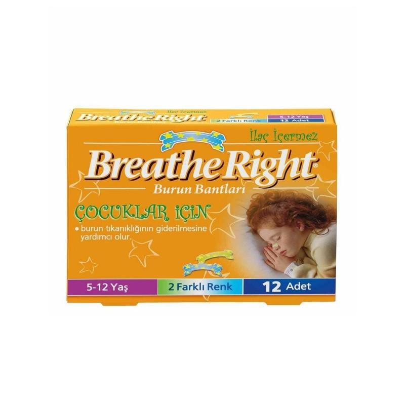 Breathe Right Burun Bandı Çocuklar İçin (5-12 Yaş)
