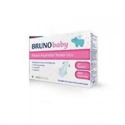 Bruno Baby Nazal Aspiratör Yedek Ucu 10 Lu
