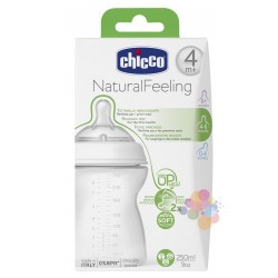 Chicco Natural Feeling Biberon (4M+) 250 ml