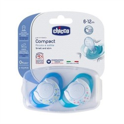 Chicco Physioring Active Mavi Silikon (6-12 ay) İkili Emzik