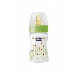 Chicco PP Biberon Unısex 150 ml Kauçuk Normal Akış Wellbeıng