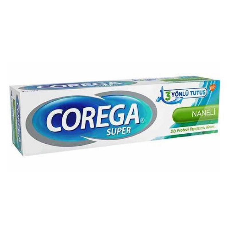 Corega Süper Diş Protezi Yapıştırıcı Krem Naneli 40 gr