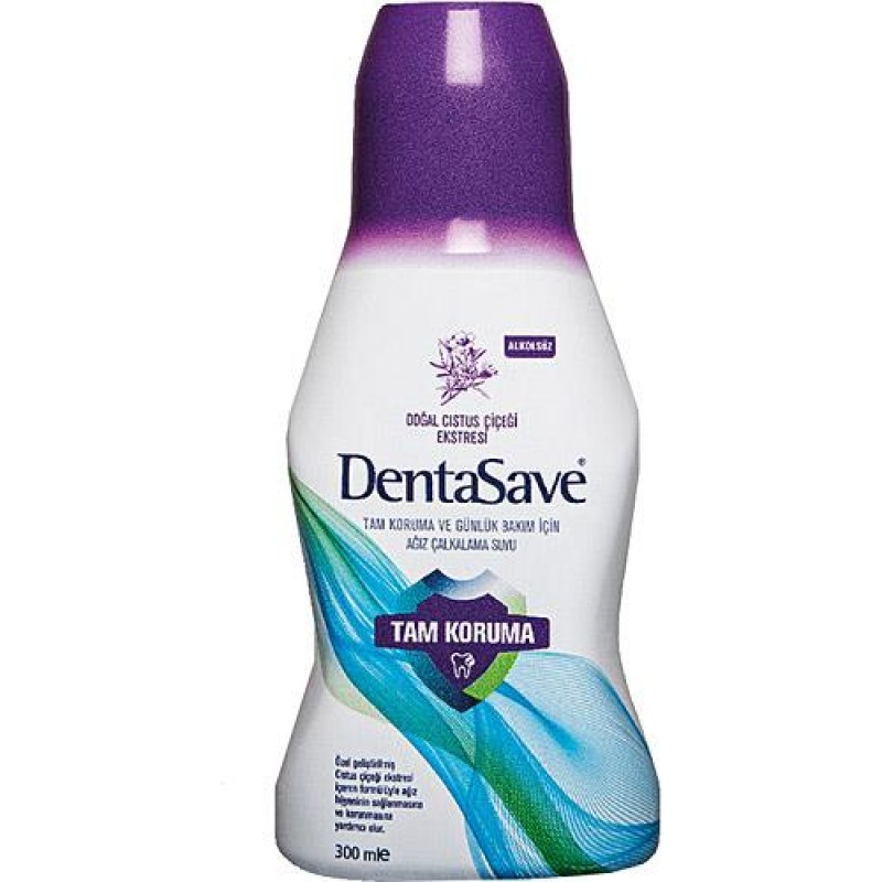 DentaSave Cistus Ağız Çalkalama Suyu 300 ml