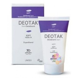Deotak Soft Sensitive Skin Krem Deodorant 35 ml