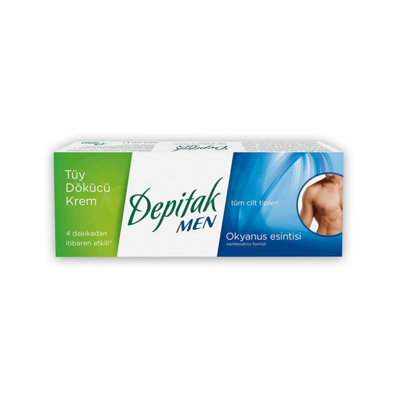 Depitak Men 50 ml Tüy Dökücü Krem