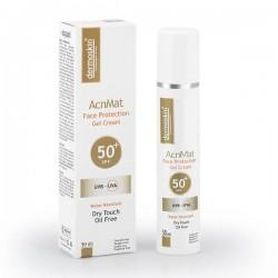 Dermoskin AcnMat Face Protection Jel Krem Spf50 50 ml