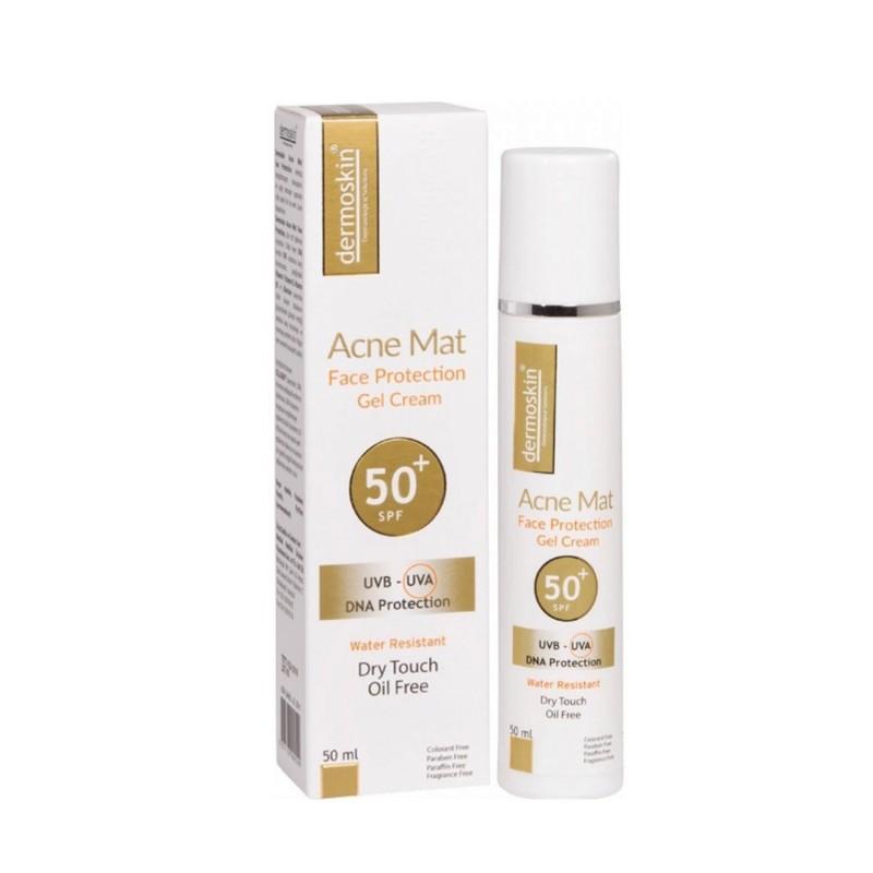 Dermoskin AcnMat Face Protection Jel Krem Spf50 50 ml
