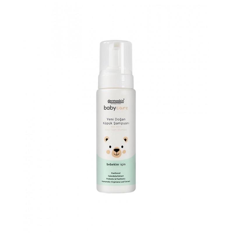 Dermoskin BabyCare Yeni Doğan Köpük Şampuanı  200 ml