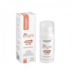 Dermoskin Be Bright Likit Fondöten Spf50 33 ml Light