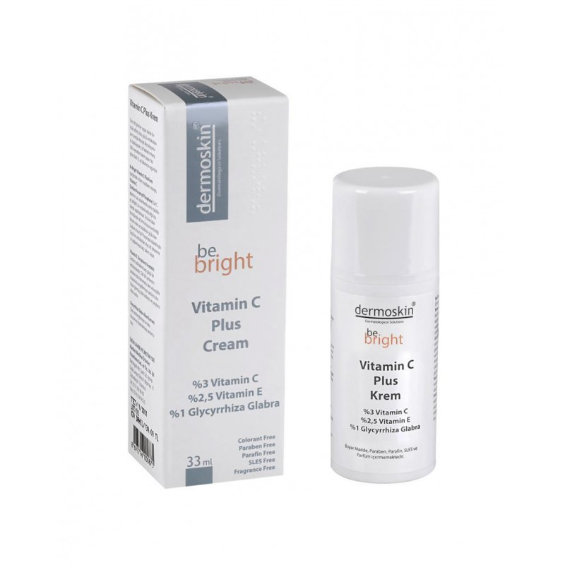 Dermoskin Be Bright Vitamin C Plus Krem 33 ml